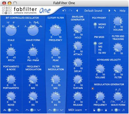 FabFilter Basic Series - One