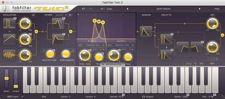 FabFilter FX & Synth Series - Twin 2