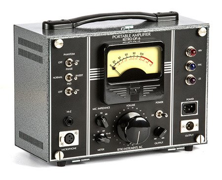OP-6 Portable Microphone Tube Amplifier