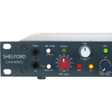 Shelford Channel - Transformer Gain Mic Pre, Inductor EQ, Diode Bridge Compressor