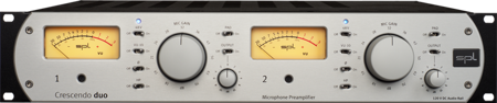 Studio Series: Crescendo duo - Two-Channel Microphone Preamplifier